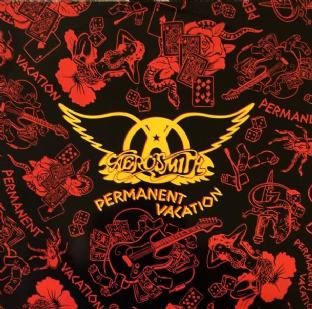 Aerosmith - Permanent Vacation (LP) (VG-/VG-)